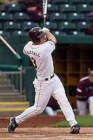 Brett Marshall (3) of the Missouri State Bears during a game vs. the Western Illinois Leathernecks at Hammons Field in Springfield, Missouri;  March 19, 2011.  Photo By David Welker/Four Seam Images