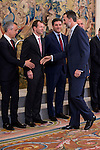 King Felipe VI of Spain receive in audience to management committee of Iberia at Zarzuela Palace in Madrid, Spain. March 06, 2017. (ALTERPHOTOS/BorjaB.Hojas)