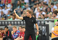 coach Julian NAGELSMANN (M) gesture, gesture, soccer 1st Bundesliga, 1st matchday, Borussia Monchengladbach (MG) - FC Bayern Munich (M) 1: 1, on August 13th, 2021 in Borussia Monchengladbach / Germany. #DFL regulations prohibit any use of photographs as image sequences and / or quasi-video # Â