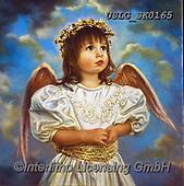 CHILDREN, KINDER, NIÑOS, paintings+++++,USLGSK0165,#K#, EVERYDAY ,Sandra Kock, victorian ,angels