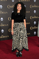 """LOS ANGELES - MAR 1:  Aisha Dee at the """"Cinderella"""" World Premiere at the El Capitan Theater on March 1, 2015 in Los Angeles, CA"""