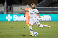 SAN JOSE, CA - SEPTEMBER 16: Dario Zuparic #13 of the Portland Timbers kicks the ball during a game between Portland Timbers and San Jose Earthquakes at Earthquakes Stadium on September 16, 2020 in San Jose, California.