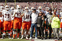 COLLEGE STATION, TX - NOVEMBER 2, 2019: The University of Texas at San Antonio Roadrunners fall to the Texas A&M University Aggies 45-14 at Kyle Field. (Photo by Jeff Huehn)