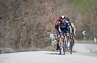 Philipp Walsleben (DEU/Alpecin-Fenix)<br /> <br /> 15th Strade Bianche 2021<br /> ME (1.UWT)<br /> 1 day race from Siena to Siena (ITA/184km)<br /> <br /> ©kramon