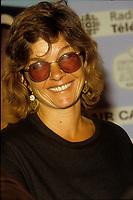 Genevieve Bujold<br /> au Festival des films du monde 1988 en aout (date exacte inconnue)<br /> <br /> PHOTO : Agence Quebec Presse