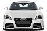 Straight front view of a 2010 - 2014 Audi TT RS Convertible.