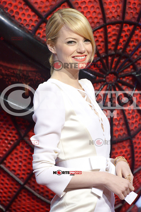 Emma Stone (wearing an Andrew Gn dress, Repossi jewelry) attending the Germany premiere of the movie The Amazing Spider-Man at CineStar Sony Center in Berlin. Berlin, 20.06.2012...Credit: Timm/face to face /MediaPunch Inc. ***Online Only for USA Weekly Print Magazines*** NORTEPOTO.COM<br /> **SOLO*VENTA*EN*MEXICO**<br /> **CREDITO*OBLIGATORIO** <br /> *No*Venta*A*Terceros*