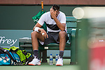 March 9, 2019: Nick Kyrgios (AUS) was defeated by Philipp Kohlschreiber (GER) 6-4, 6-4 at the BNP Paribas Open at the Indian Wells Tennis Garden in Indian Wells, California. ©Mal Taam/TennisClix/CSM