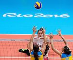 Heidi Peters, Rio 2016 - Sitting Volleyball // Volleyball assis.<br /> Canada competes against Ukraine in the Women's Sitting Volleyball Preliminary // Le Canada affronte l'Ukraine dans le tournoi préliminaire de volleyball assis féminin. 13/09/2016.