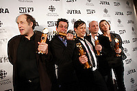 Montreal (qc) CANADA - Feb 19  2007 -<br /> <br /> Congorama wins at the 2007 JUTRAS Gala