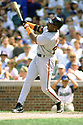 CHICAGO - CIRCA 1998:  Barry Bonds #25 of the San Francisco Giants bats during an MLB game at Wrigley Field in Chicago, Illinois. Bonds played for 22 seasons with 2 different teams, was a 14-time All-Star and was a 7-time National League MVP. (David Durochik / SportPics) --Barry Bonds
