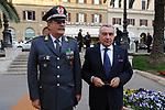 PIPPO MARRA CON GENERALE DELLA FINANZA<br /> CELEBRAZIONE DEI 60 ANNI DELLO STATO D'ISRAELE TEATRO DELL'OPERA ROMA 2008