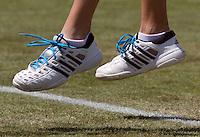 15-06-10, Tennis, Rosmalen, Unicef Open,  Blauwe veters voor Unicef