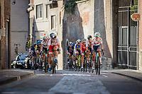 Joscelin Lowden (GBR/Drops LeCol), Sint-Antoniusberg in chasing group up the Sint-Antoniusberg<br /> <br /> Women Elite – Road Race (WC)<br /> Race from Antwerp to Leuven (157.7km)<br /> <br /> ©kramon