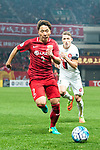 Shanghai FC Defender Zhang Wei in action during the AFC Champions League 2017 Group F match between Shanghai SIPG FC (CHN) vs Western Sydney Wanderers (AUS) at the Shanghai Stadium on 28 February 2017 in Shanghai, China. Photo by Marcio Rodrigo Machado / Power Sport Images