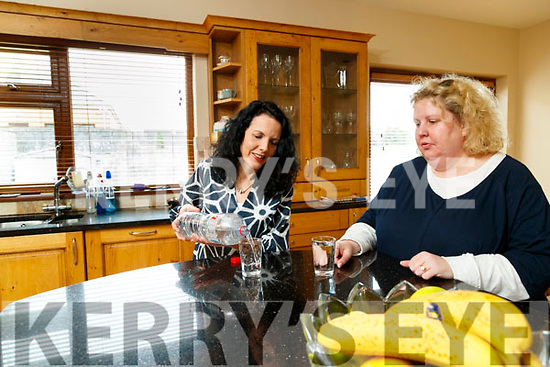 Evelyn Casey Dowling and Jane O'Driscoll residents of Oakfield square, Oakpark, Tralee