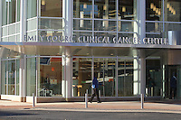 Feb. 26, 2011- Charlottesville, Virginia (USA)- The University of Virginia Medical Center held the grand opening for the newly constructed Emily Couric Clinic Cancer Center. CBS Evening News anchor Katie Couric was the featured speaker at the event. The building is named after her sister Emily Couric who died of pancreatic cancer in 2001.  Credit Image: © Andrew Shurtleff