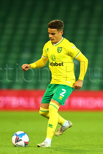 3rd November 2020; Carrow Road, Norwich, Norfolk, England, English Football League Championship Football, Norwich versus Millwall; Max Aaron of Norwich City