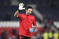 ECHAUFFEMENT - 01 GIANLUIGI BUFFON (PSG)<br /> Parigi 6-03-2019 <br /> Paris Saint Germain - Manchester United <br /> Champions League 2018/2019<br /> Foto Anthony Bibard / Panoramic / Insidefoto