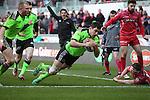 Scarlets v Munster 0215