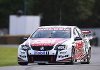 9th July 2021;  Goodwood  House, Chichester, England; Goodwood Festival of Speed; Day Two; Ric Wood drives a Holden Commodore in the Goodwood Hill Climb