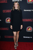 """HOLLYWOOD, LOS ANGELES, CA, USA - MARCH 20: Jessica Lindsey at the Los Angeles Premiere Of Pantelion Films And Participant Media's """"Cesar Chavez"""" held at TCL Chinese Theatre on March 20, 2014 in Hollywood, Los Angeles, California, United States. (Photo by David Acosta/Celebrity Monitor)"""
