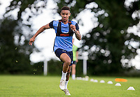 Paris Cowan-Hall during the Wycombe Wanderers 2016/17 Pre Season Training Session at Wycombe Training Ground, High Wycombe, England on 1 July 2016. Photo by Andy Rowland / PRiME Media Images.