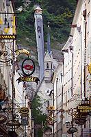 Quaint shops, Salzberg, Austria