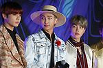 Jung-Kook, RM and Ji-Min(BTS), Dec 04, 2019 : Jungkook, RM, Jimin, BTS, 2019 Mnet Asian Music Awards (MAMA) in Nagoya, Japan on December 4, 2019. (Photo by Pasya/AFLO)