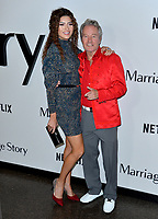 "LOS ANGELES, USA. November 06, 2019: Blanca Blanco & John Savage at the premiere for ""Marriage Story"" at the DGA Theatre.<br /> Picture: Paul Smith/Featureflash"