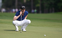 Matthew Goode (English Actor) during the BMW PGA PRO-AM GOLF at Wentworth Drive, Virginia Water, England on 23 May 2018. Photo by Andy Rowland.