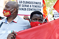 Lavoratori migranti protestano per regolarizzazione contro lo sfruttamento