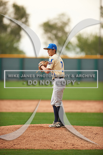 Kyle Sonandres (2) of West Torrance High School in Torrance, California during the Under Armour All-American Pre-Season Tournament presented by Baseball Factory on January 14, 2017 at Sloan Park in Mesa, Arizona.  (Zac Lucy/Mike Janes Photography)
