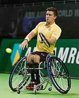 Rotterdam, The Netherlands, 14 Februari 2019, ABNAMRO World Tennis Tournament, Ahoy, first round wheelchair singles: Gordon Reid (GBR),<br /> Photo: www.tennisimages.com/Henk Koster