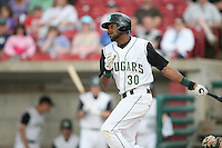 June 8, 2009: Christopher Berroa (30) of the Kane County Cougars at Elfstrom Stadium in Geneva, IL..  Photo by: Chris Proctor/Four Seam Images