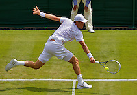 England, London, 23.06.2014. Tennis, Wimbledon, Tomas Berdych (CZE)<br /> Photo:Tennisimages/Henk Koster