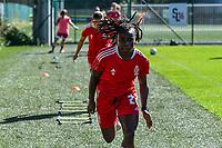 Standard Welma Fon (22) before a women soccer match between Standard Femina de Liege and Eendracht Aalst dames, Saturday 25 September 2021 in Liege, in the 1/16 th final of the Belgian Womens Cup 2021-2022. PHOTO BERNARD GILLET