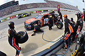 NASCAR XFINITY Series<br /> Irish Hills 250<br /> Michigan International Speedway, Brooklyn, MI USA<br /> Saturday 17 June 2017<br /> Matt Tifft, Tunity Toyota Camry pit stop<br /> World Copyright: Nigel Kinrade<br /> LAT Images