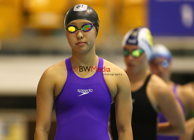Grace Baik. Session 2 of the AON New Zealand National Age Group Swimming Champs, Wellington Regional Aquatic Centre, Auckland, New Zealand. Monday 19 April 2021 Photo: Simon Watts/www.bwmedia.co.nz
