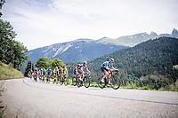 racing in the French Alps<br /> <br /> Stage 5: Megève to Megève (154km)<br /> 72st Critérium du Dauphiné 2020 (2.UWT)<br /> <br /> ©kramon