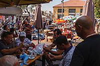 Israel,Jaffa, marcè au puce