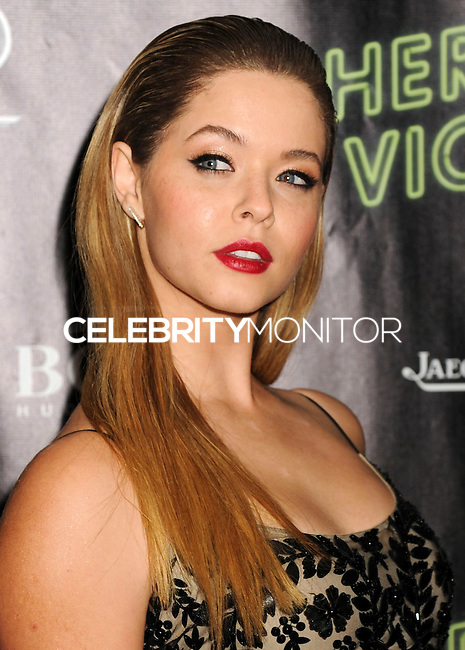NEW YORK CITY, NY, USA - OCTOBER 04: Sasha Pieterse arrives at the 52nd New York Film Festival - 'Inherent Vice' Centerpiece Gala Presentation & World Premiere held at Alice Tully Hall on October 4, 2014 in New York City, New York, United States. (Photo by Celebrity Monitor)