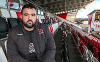 Monday 6th January 2020 | Ulster Rugby Match Briefing<br /> <br /> Marty Moore during the Ulster Rugby Match Briefing held at Kingspan Stadium, Ravenhill Park, Belfast, Northern Ireland and of their Heineken Champions Cup Pool 3, Round 5, clash with Clermont in France this weekend. Photo by John Dickson / DICKSONDIGITAL