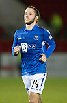St Johnstone v Hearts…30.10.19   McDiarmid Park   SPFL<br />Stevie May<br />Picture by Graeme Hart.<br />Copyright Perthshire Picture Agency<br />Tel: 01738 623350  Mobile: 07990 594431