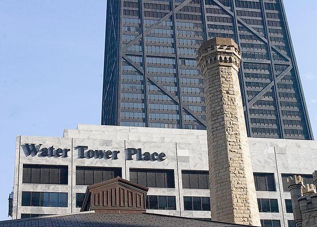 Shopping, Water Tower Place, Chicago, Illinois