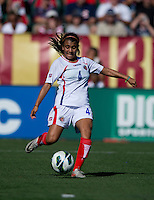 Gabriela Guillen.  The USWNT defeated Costa Rica, 8-0, during a friendly match at Sahlen's Stadium in Rochester, NY.