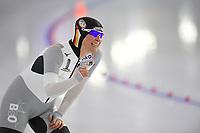 SPEEDSKATING: HEERENVEEN: 24-01-2021, IJsstadion Thialf, ISU World Cup I, Claudia Pechstein, ©photo Martin de Jong