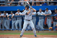 Jonathan Pryor (11) of the Wake Forest Demon Deacons at bat against the Florida Gators in Game One of the Gainesville Super Regional of the 2017 College World Series at Alfred McKethan Stadium at Perry Field on June 10, 2017 in Gainesville, Florida. The Gators defeated the Demon Deacons 2-1 in 11 innings. (Brian Westerholt/Four Seam Images)