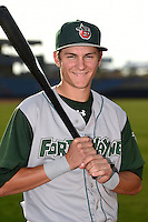 Fort Wayne TinCaps shortstop Trea Turner (5) poses for a photo before a game against the Lake County Captains on August 21, 2014 at Classic Park in Eastlake, Ohio.  Lake County defeated Fort Wayne 7-8.  (Mike Janes/Four Seam Images)
