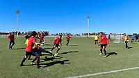 Lakewood Ranch, FL - Sunday Jan. 07, 2018: USMNT U-19 team during an U-19 USMNT training session at Premier Sports Campus in Lakewood Ranch, FL.